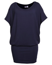 Michelle Ludek  Jackie Dress Navy