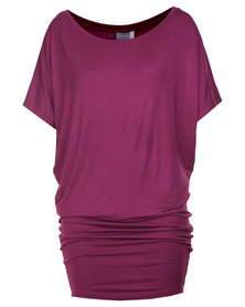 Michelle Ludek Jackie Dress Purple