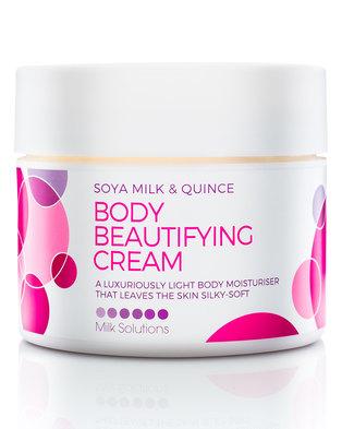 Milk Solutions Fruit Soya Milk & Quince Body Beautifying Cream