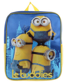 Minions Backpack Blue