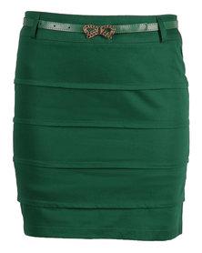 Mint Skirt Green