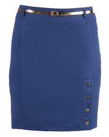 Mint Skirt Blue