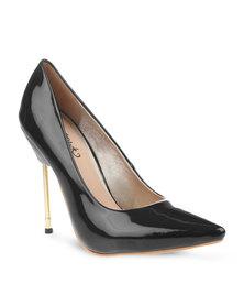 Miss Black Kate Heels Black