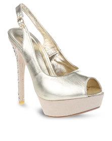 Miss Black Ang 1 Heels Gold