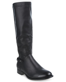 Miss Black La Rambia 1 Knee-High Boots Black