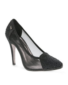 Miss Black Cynthia Heels Black