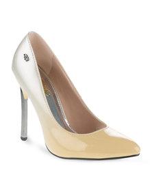 Miss Black Chloe Heels Cream