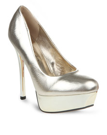 Miss Black Toni 1 Heels Gold