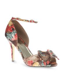 Miss Black Crawford Heels Multi
