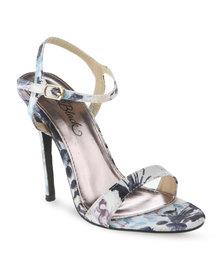 Miss Black Diana High Heel Sandals Multi-Colour