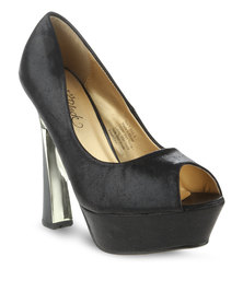 Miss Black Isla High Heels Black