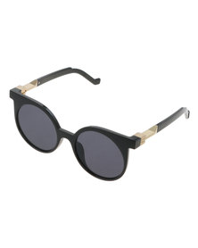Miss Maxi Catseye Sunglasses Black