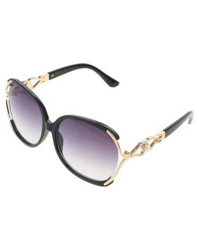 Miss Maxi Big Frame Sunglasses Black