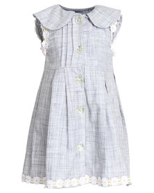 Miss Molly Kirsty Floral Dress Denim