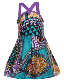 Miss Molly Traditional Mbali Dress Purple