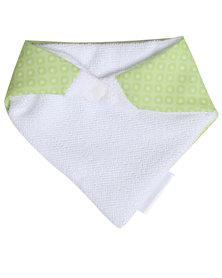 Moederliefde Bandana Bib Dots Green