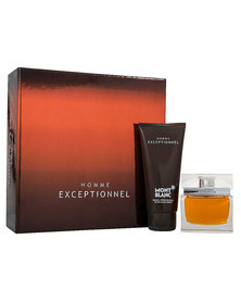 Mont Blanc  Exceptional Gift Set 50ml Eau De Toilette Spray & 100ml After Shave Balm