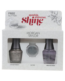 Morgan Taylor Sparkle, Shimmer, Shine Duo Gold-tone