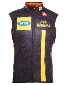 MTN-Qhubeka Windproof Vest Black