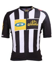 MTN-Qhubeka Team 2.0 Jersey FZ Black