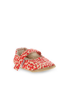 Myang Mary Jane Baby Shoes Red/Tan