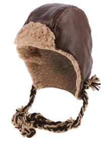Myang Hats Aviator Brown