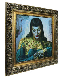 Nacistore Tretchikoff Lady of The Orient Print Multi