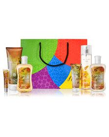 Nature's Carnival Gentle Vanilla Rain Deluxe Body Pack in Gift Bag