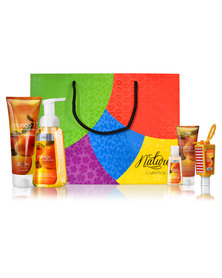 Nature's Carnival Cool Citrus Breeze Body Pack in Gift Bag
