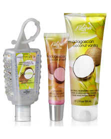 Nature's Carnival Madagascan Pearl Lips and Hands Gift Pack