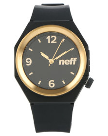 Neff Stripe Watch Black