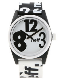 Neff Wild Biggy Black/White