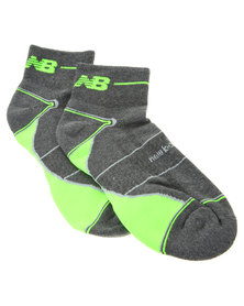 New Balance Performance Trail Socks Grey