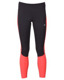 New Balance Performance Accelerate Tights Peach