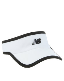 New Balance Performance Unisex Sun Visor White