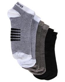 New Balance Performance Men's Socks 3 Pack Multi