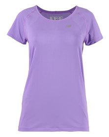 New Balance Minimus Training T-Shirt Purple