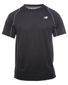 New Balance Performance Accelerate Tee Black