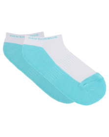 New Balance Performance Women's Response Ped Socks Blue