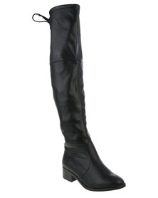 Newlook WF High Leg Boots Black