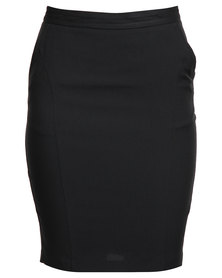 New Look Betty Bistretch Suit Skirt Black