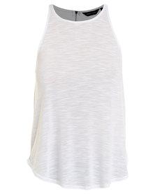 New Look Zip Back Vest White