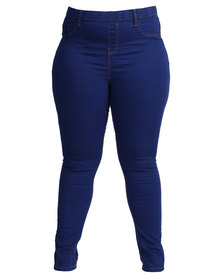New Look Jessie Jeggings Bright Blue