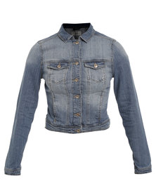 New Look Denim Jacket Blue