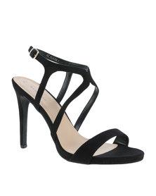 New Look Ricardo Strap Detail Formal Sandals Black