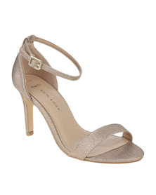 New Look Sensatory High Heel Sandal Gold-tone