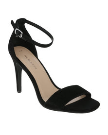 New Look Roka 2 Square Toe Heel Black
