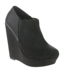 New Look Upright Platform Shoe Boots Black