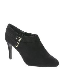 New Look Thrill Mid Heel Boots Black