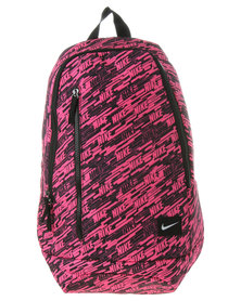 Nike Graphic Print Backpack Pink